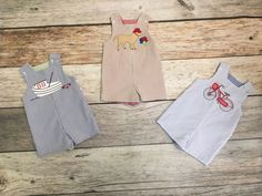 We love our reversible John-Johns from Bailey Boys!