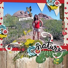 Layout using {In The Woods} Digital Scrapbook Kit by Red Ivy Designs available at Sweet Shoppe Designs http://www.sweetshoppedesigns.com//sweetshoppe/product.php?productid=34234&cat=&page=1 #redivydesigns