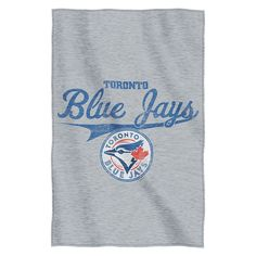 The Northwest Company, LLC Officially Licensed MLB Sweatshirt Throw by Northwest - Toronto Blue Jays Mlb Teams, Toronto Blue Jays, Team Names, Print Logo, Soft Fabrics, Screen Printing, Sweatshirts, Products, Fan
