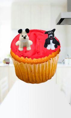 Twee honden op mijn cakeje