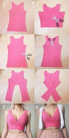 Crop Tops 816910819893804848 - These DIY tops are softer than the . - Crop Tops 816910819893804848 – These DIY tops are sweeter than the cutest summer dresses # DIY - Diy Crop Top, Diy Halter Top, Diy Kleidung, Cute Summer Dresses, Diy Summer Clothes, Diy Clothes Ideas No Sew, Diy Party Clothes, Diy Clothes Hacks, Diy Clothes Tops
