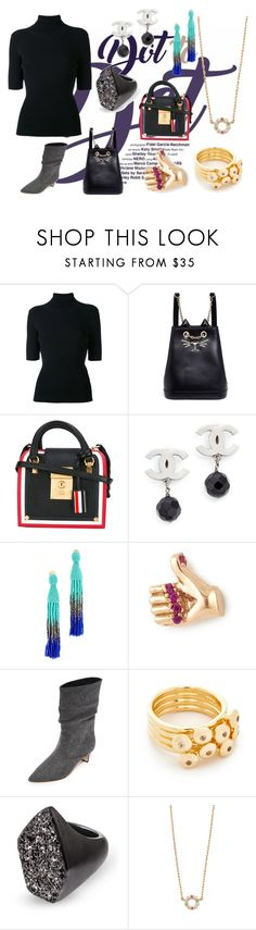"""""""My Style Statement"""" by justinallison ❤ liked on Polyvore featuring Valentino, Charlotte Olympia, Thom Browne, Oscar de la Renta, Marc Jacobs, Sigerson Morrison, Elizabeth and James and Kendra Scott"""