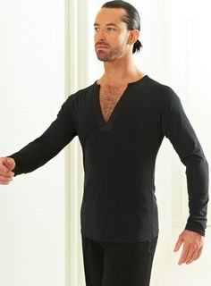 Je'Dor Long Sleeve Bohemian Latin Top   Dancesport Fashion @ DanceShopper.com
