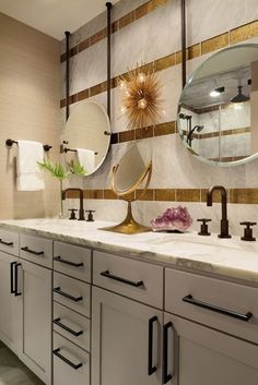 I know large scale handles on cabinets are in right now but keep in mind the scale.....if all you notice is the hardware then you've gone too large for the cabinetry.