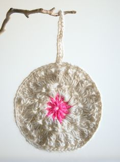 Whit's Knits: Snowflower Ornaments - Knitting Crochet Sewing Crafts Patterns and Ideas! - the purl bee