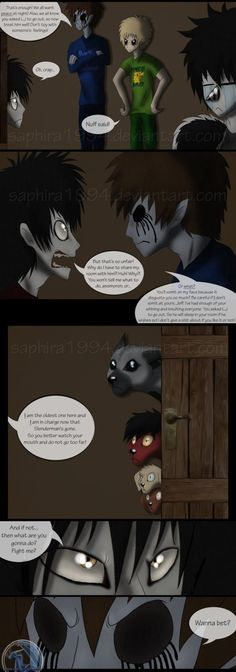 Adventures With Jeff The Killer - PAGE 48 by Sapphiresenthiss on deviantART
