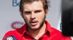 Alex Galchenyuk, au tournoi de golf annuel du Canadien de Montréal, à Laval-sur-le-Lac