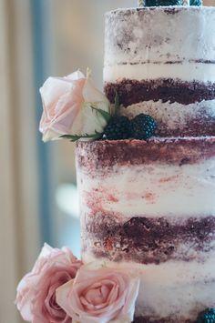 Red Velvet Naked Wedding Cake More