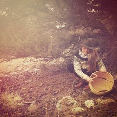 love Sophia's images, simple, women gathering herbs, in nature. images like this fit our style and life. want to show that