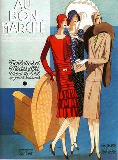 French Fashion advertisement (via ondiraiduveau on Flickr.)