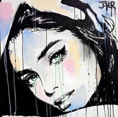 'something maybe' Poster by Loui Jover Collage Portrait, Newspaper Art, Paint Photography, Human Art, Art Graphique, Beautiful Drawings, Female Art, Painting & Drawing, Pop Art