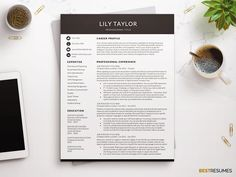 Resume Icons, Resume Layout, Resume Format, Letterhead Template, Modern Resume Template, Perfect Resume, Cover Letter Template, Professional Resume