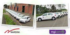 A mglcom produziu e executou a personalização parcial de mais 32 carros da empresa Nardini.    Saiba mais: http://www.mglcom.com.br/blog/2012-04-04-personalizacao-de-frota--32-carros-adesivados-para-a-nardini