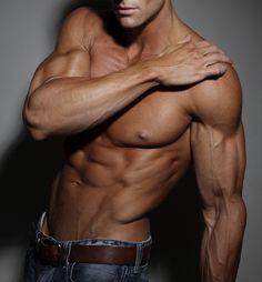 men, handsome, fitness model, muscular