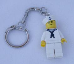 Lego minifigure keyring $10  Quizzical Owl