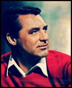Cary Grant, great color photo of him.