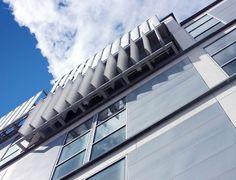 ÓÓÓ Oldalról záródó zsalu! tetszik!    Aluminum solar shading / for facades / motorized DUTEC 600e Durmi