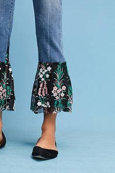 Anthropologie Favorites:: The BEST, Most STYLISH Fall #Jeans and #Leggings