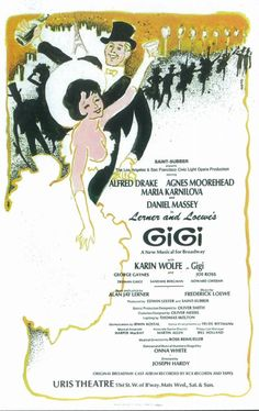 Gigi (Broadway) posters for sale online. Buy Gigi (Broadway) movie posters from Movie Poster Shop. We're your movie poster source for new releases and vintage movie posters. Broadway Plays, Broadway Theatre, Musical Theatre, Broadway Shows, Broadway Posters, Movie Posters, Theatre Posters, Singing In The Car, Movies