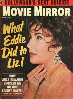 item details: Entire issuekeywords: Elizabeth Taylor cover, Vince Edwards\