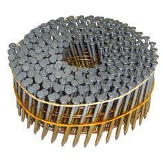 "Hitachi 13365H 2"" X .092"" Round Head Ring Shank Galvanized Siding Nails"