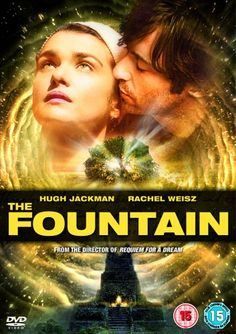 The Fountain. 2006 American drama film that blends elements of fantasy, history, spirituality, and science fiction. It is directed by Darren Aronofsky, and stars Hugh Jackman and Rachel Weisz. Sean Patrick Thomas, Future Timeline, Rent Movies, Requiem For A Dream, Blu Ray Collection, Darren Aronofsky, Science Fiction Books, Rachel Weisz, Tv Episodes