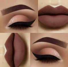 Gorgeous Makeup: Tips and Tricks With Eye Makeup and Eyeshadow – Makeup Design Ideas Cute Makeup, Gorgeous Makeup, Pretty Makeup, Casual Makeup, Sleek Makeup, Makeup Goals, Makeup Inspo, Makeup Inspiration, Makeup Ideas