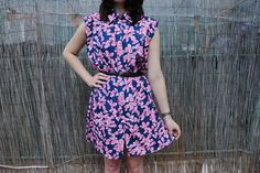 https://www.facebook.com/pages/Any9Sense-Clothing/391374804292247 #vintage #moda #vestido #flores #any9sense
