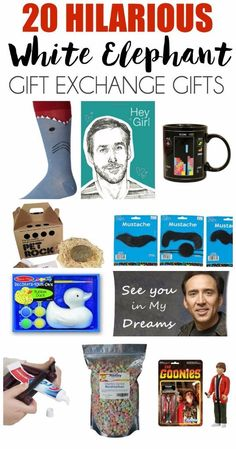 Tons of great white elephant gift ideas, perfect for a white elephant gift exchange or any other holiday gift exchange. I think #1 is still my favorite!