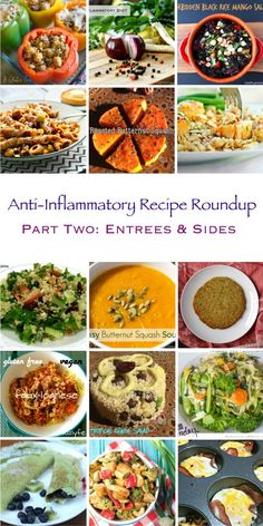 The first Anti-Inflammatory Recipe Roundup was such a success that I had to followup and post another. I need to thank all of the bloggers again that let me share their recipes. There are so many great recipes in this post, I hope that you are able to add some into your weekly rotation. I know I did!