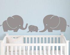 Elefantenbaby Zoo König Wall Decal Elefant von LeoLittleLion
