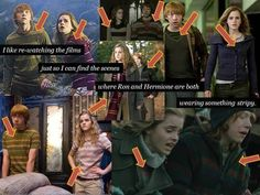Ron and Hermione - so there THAT couple