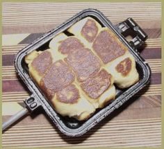 Boondockers pie Iron cooking ... lots of recipes to make in a pie iron