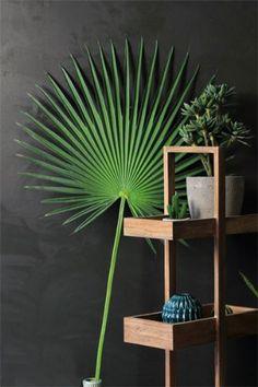 Fabulous Faux Fan Palm Leaf Stem WAS 45 NOW 29