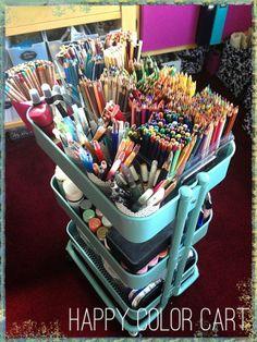 Ikea Raskog = Happy Color cart
