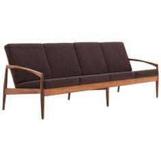 Mid Century Rosewood 4 seater sofa - Kai Christiansen