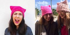 "Thousands of Women Are Planning to Wear ""Pussy Hats"" to the Women's March on Washington - Cosmopolitan.com"