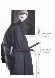Fashion Sketchbook - fashion collage; fashion design sketch; fashion portfolio // Katarina Lindell