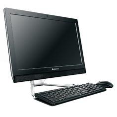 Lenovo C560 23-inch All-in-One Desktop (Black) - (Intel Core i5-4460T 1.90 GHz, 8 GB RAM, 1 TB HDD, Integrated Graphics, DVDRW, HDMI, Bluetooth, Wi-Fi, Windows 8.1)
