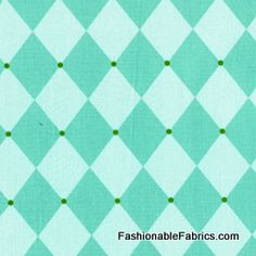 Fabric... Andalucia Jester in Aqua by Patty Young