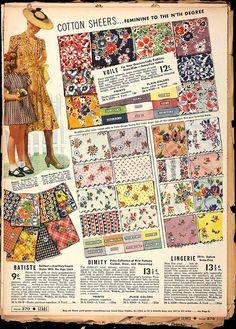 1930s vintage fabrics