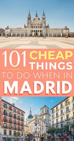 Planning to travel to Madrid, Spain? Discover the best things to do in Madrid, from food and nightlife to attractions and shopping. This is the ultimate Madrid travel guide - a list of 101 things to do in Spain's capital, including top restaurants and day Instagram Inspiration, Travel Inspiration, Alicante, Madrid Attractions, Madrid Guide, Spain Destinations, Visit Madrid, Madrid Travel, Madrid Shopping