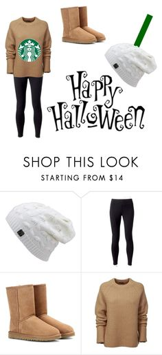 """""""DIY costume-Starbucks cup"""" by bre-winter ❤ liked on Polyvore featuring Jockey, UGG Australia and Joseph"""