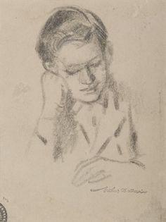 Son Rab, Arthur Bowen Davies, Gift of Clinton Lindley