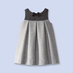 Flannel pinafore dress from Jacadione word: classy!Take a look at the timelessly elegant collections of baby, toddler and kids clothes, shoes and accessories that Jacadi designed for children of all ages.This Pin was discovered by BEL Toddler Dress, Toddler Outfits, Toddler Girl, Kids Outfits, Little Girl Outfits, Little Girl Dresses, Baby Girl Fashion, Kids Fashion, Baby Dress Design