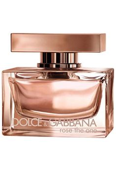 Rose The One by Dolce & Gabanna.....Need to add this to the collection