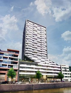 barcode architects unveil new luxury residential tower the muse in rotterdam
