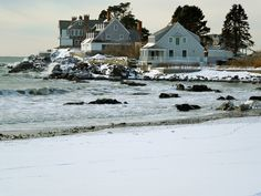 Kennebunkport in the winter