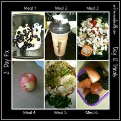 21 day fix day 12 meals  Weekly meal plan updated on Mondays with a vlog!  asfitnessandhealth.com/blog