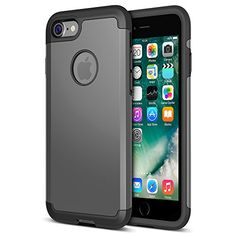 iPhone 8 Case, Trianium Protanium Apple iPhone 8 Case with Heavy Duty Protection/Shock Absorption/Dual Layer TPU Rigid Back Armor/Scratch Resistant/Reinforced Corner Frame -Gunmetal -- Read more at the image link. (This is an affiliate link) Iphone Deals, Buy Iphone, Iphone Hacks, Iphone 7 Plus Cases, List, Protective Cases, Cell Phone Accessories, Apple Iphone, Corner